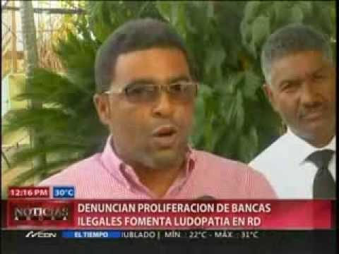 Denuncian proliferación de bancas ilegales fomenta ludopatía en RD