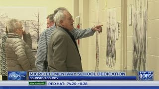 Students past and present attend Johnston County school dedication