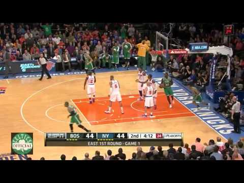 Avery Bradley 15 points vs New York Knicks - Game 1 Playoffs - Highlights 4/20/2013