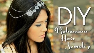Make Nicole Richie's Boho Hair Jewelry Accessory {How to DIY w/ LetsMakeitUp1}