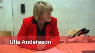 Föreläsning Ulla Andersson (V) på Handelshögskolan i Göteborg 30 januari 2012