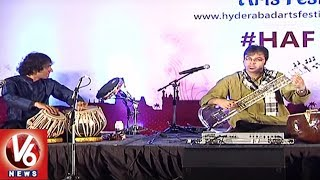 Fusion Music Concert Held In Botanical Club House | Hyderabad