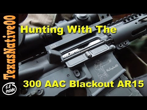 Stalking Deer with the 300AAC Blackout AR15 Sporting Rifle - 12 Point Buck