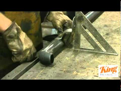 How to Weld Pipe Rail pt2