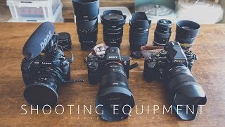 Shooting Equipment for Cooking Videos ☆ 動画の撮影機材の紹介