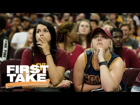 Where Do The Cleveland Cavaliers Go From Here?   First Take   June 13, 2017