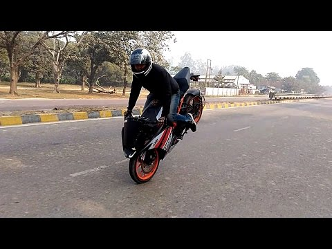 2017 new KTM 200 rc duke stunt and full review specification new Features new technology in hindi