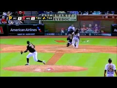 Paul Goldschmidt Hit by pitch =REVENGE on Andrew McCutchen 2014