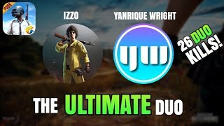 The ULTIMATE Duo vs Squad with IZZO is back!   26 Duo KILLS!   PUBG Mobile