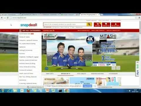 Google Hangout on Snapdeal Affiliates - YouTube