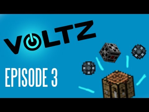 Minecraft Voltz: Crafting the goods (Universal Electricity) EP03