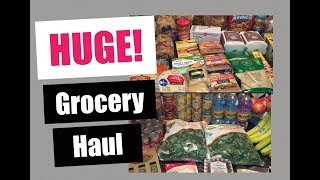 HUGE GROCERY HAUL!!! | MONTHLY Shopping haul from ALDI