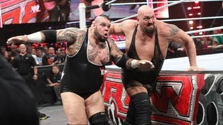 Brodus Clay vs. Big Show: Raw, May 28, 2012