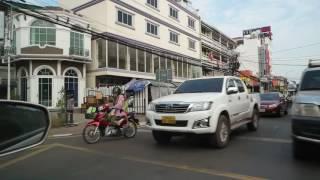 Laos Trip 2016 EP/14 Driving Around Vientiane City