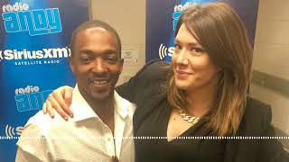 Why education was stressed in Anthony Mackie's family