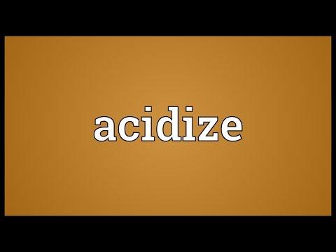 Header of acidize