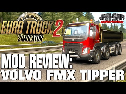Volvo FMX Meiler Kipper 540 | EURO TRUCK SIMULATOR 2 MOD REVIEW | ETS 2 MOD REVIEW