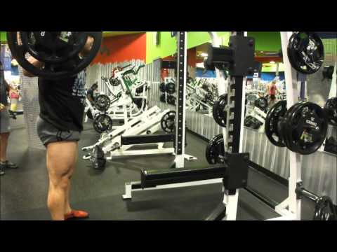 Hardcore Squat Till You Puke Leg Workout Image 1