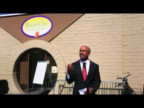 Neel Kashkari speaks about his time on the streets in Fresno