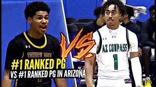 #1 Ranked Point Guard Vs The #1 Point Guard In Arizona!!! SH** GOT WILD! Daishen Nix Drops 43!!!