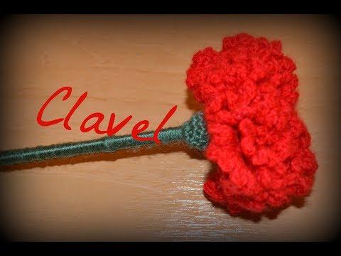 🌼Clavel🌼|| Crochet o ganchillo. | moda