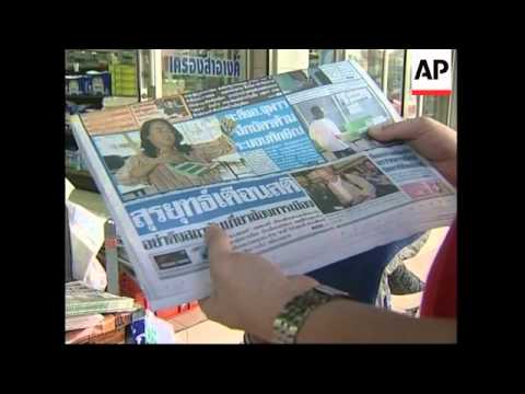Headlines, election commission, Thaksin, protest