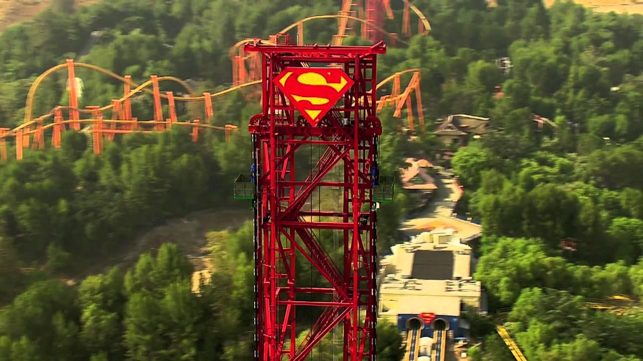 Six Flags Drop of Doom Height Lex Luthor Drop of Doom Six