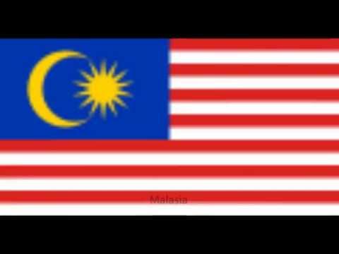 Banderas del mundo con sus nombres en grande - Imagui