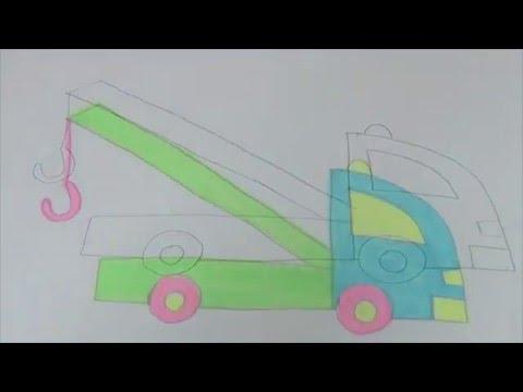 Видео как нарисовать игрушки карандашом поэтапно