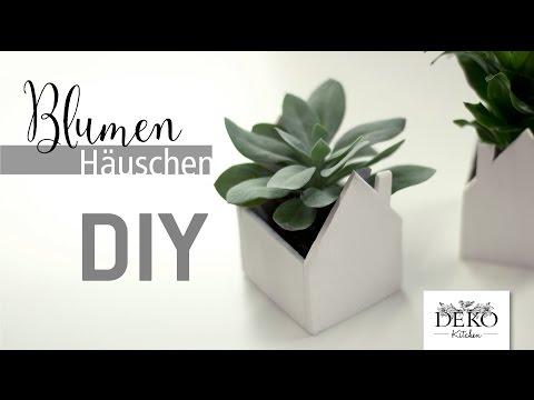 DIY: Süßes Deko-Häuschen Für Pflanzen Selber Machen | Deko Kitchen