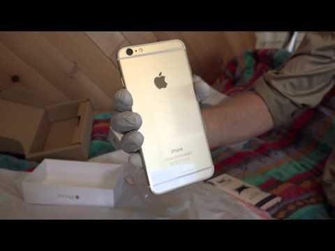 IPHONE 6 PLUS UNBOXING and Screen Protector Application 4k 2160p