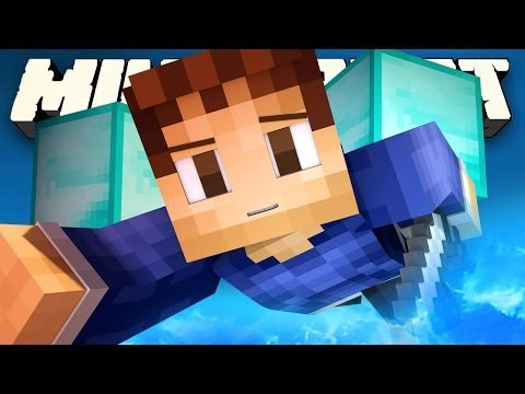 OVERPOWERED SKY BATTLE Minecraft Mini Games: OP SKY WARS