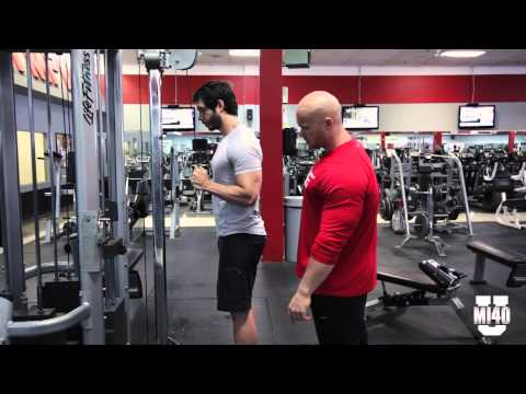 Bicep and Tricep Training Active Range of Motion - Ben Pakulski & Brandon Crowe