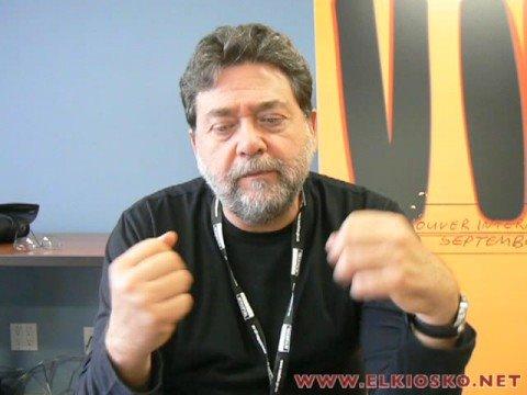 entrevista Guillermo Navarro VIFF 2008, Trade Forum