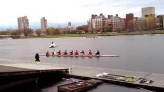 Adams House Rowing Club: First Race