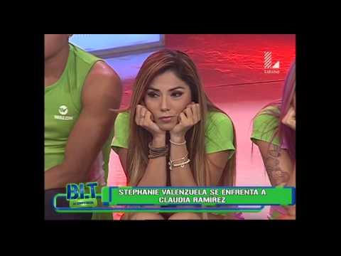 Stephanie Valenzuela Se Enfrenta A Claudia Rampirez En BLT