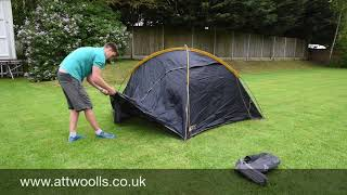 Vango Halo Pro Tent Pitching Video