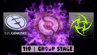 EG vs NiP | Ti9 Group Stage Bo2 | LIVE