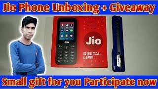Jio Phone Unboxing, First look,Full Review & Giveaway🎁 | Rs.1500 Dhamaka🎉
