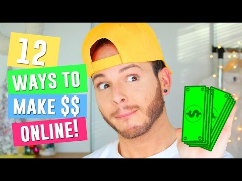 12 Best Ways to Make Money On the Internet  How to make Money online for Teenagers in 2016 & 2017
