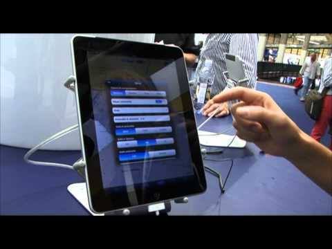 Curiosit� da Salone: navigare con Ipad e Iphone