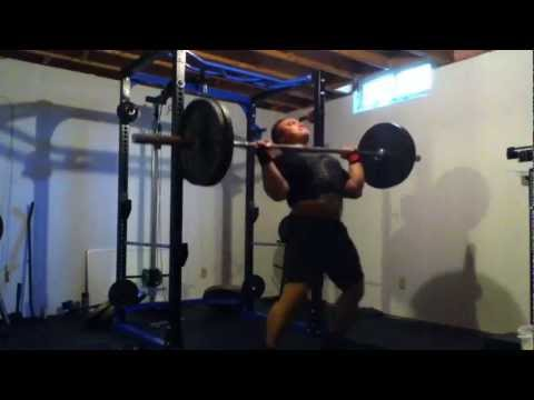 Power Clean & Shoulder Press: 225lbs Image 1