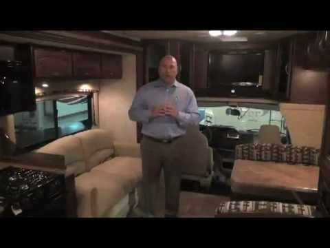 Phantom 32p Interior Part I - 2012 Class C Motorhome w/ Bunk Beds  - RV for sale HGTV Reviewed