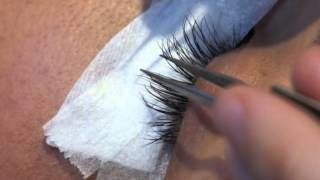 How I do lash extensions