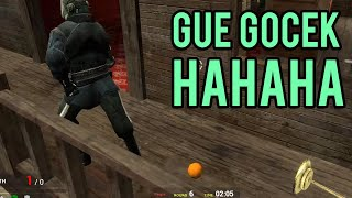 HAHAHHAH DIGOCEK AMPE MAMPUS ! | Gmod Prop Hunt Indonesia Funny Moments