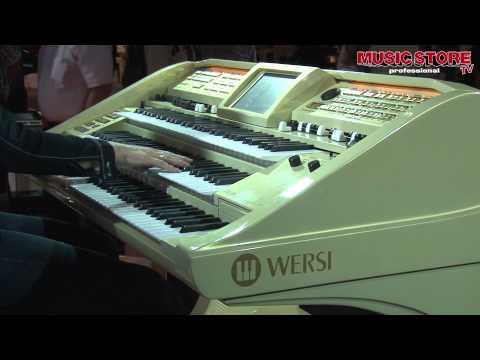 Claudia Hirschfeld bei WERSI - Teil 3 - Live @ Musikmesse 2012