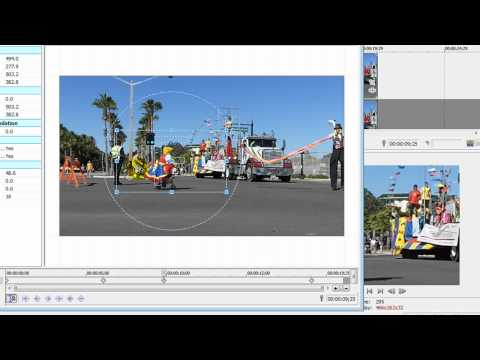 Motion Tracking. Virtual Camera Moves with Sony Vegas Movie Studio