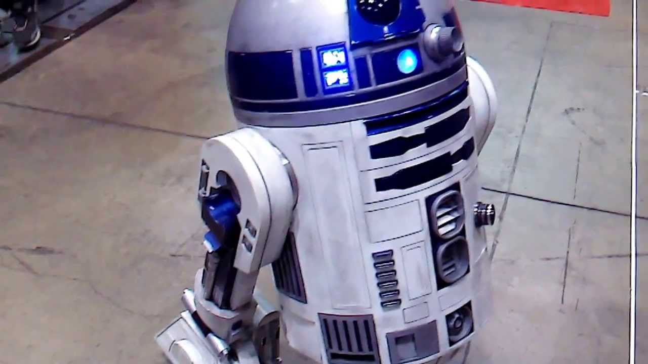 Robot Life Size Life Size R2-d2 Robot With