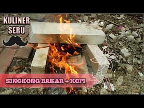 BIKIN SINGKONG BAKAR + KOPI