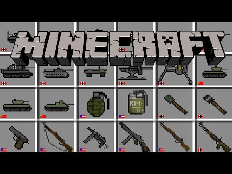 Minecraft Flans Mod: Warfare 44 Pack